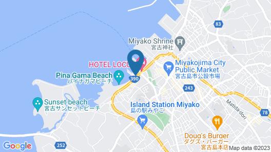 HOTEL LOCUS Map