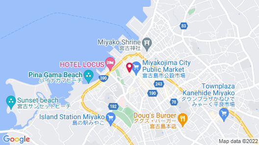 Mr.KINJO MIYAKO ISLAND Map