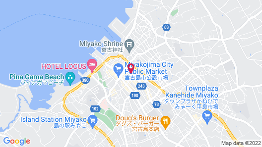 Central Resort Miyakojima Map