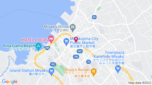 Miyakojima guest house cocoikoi - Hostel Map