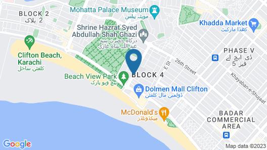 Hotel One Karachi Map