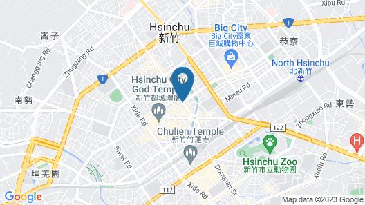 Forte Hotel Hsinchu Map