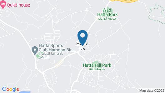 Hatta Damani Lodges Resort Map