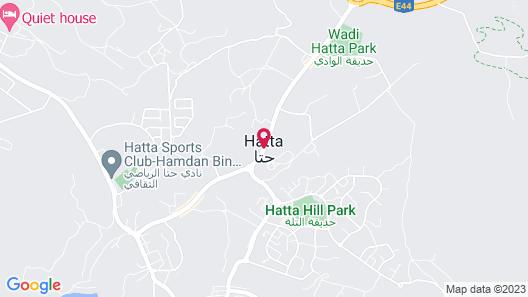 Hatta Sedr Trailers Resort Map