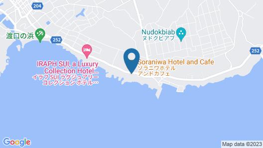 soraniwa hotel and cafe Map
