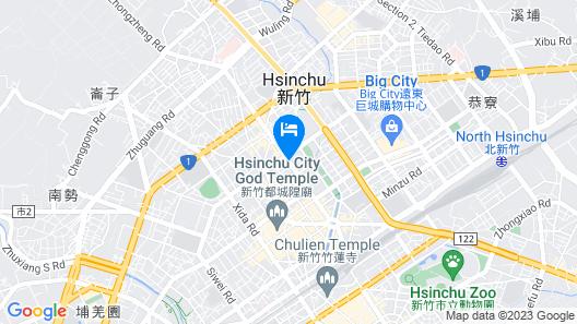 Wego Boutique Hotel-Hsinchu Map