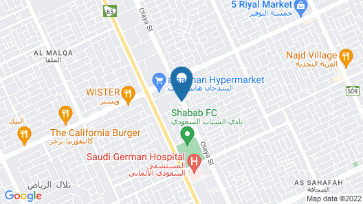 Ascott Rafal Olaya Riyadh Map