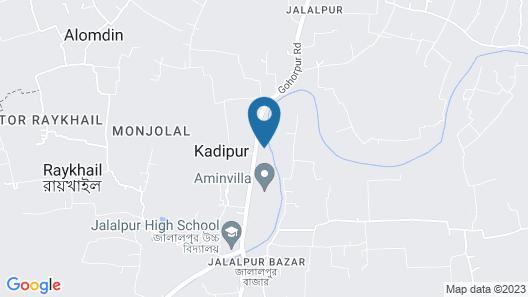 Remarkable 9-bed Villa in Sylhet Map