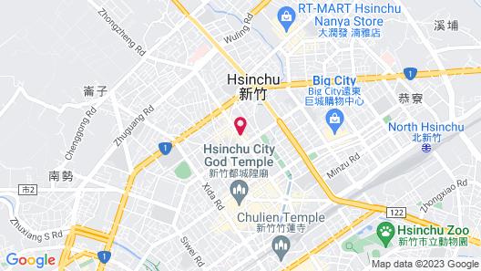 Howard Plaza Hotel Hsinchu Map