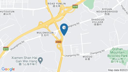 Wyndham Jinjiang Map
