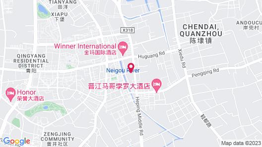 Marco Polo Jinjiang Map