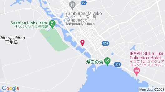 Hotel South Island Map