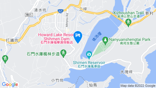 Howard Lake Resort Shihmen Dam Map