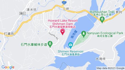 Howard Lake Resort Shihmen Dam Map