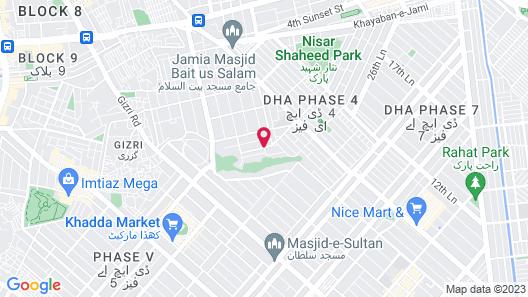 Hotel Defence Inn Map