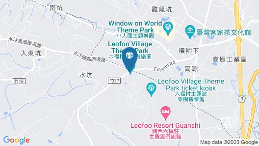 Leofoo Resort Guanshi Map