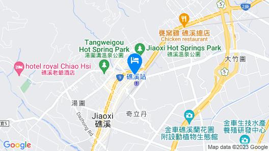 Yamagata Kaku Hotel & Spa Map