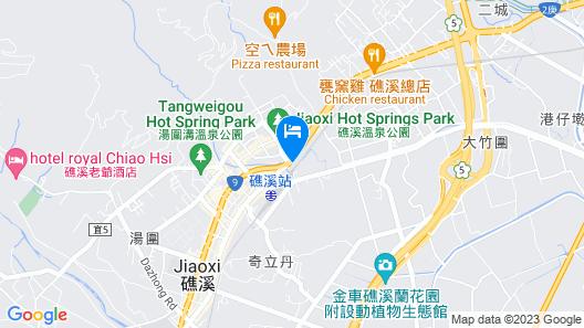 Hotel Les Champs Jiaosi Map