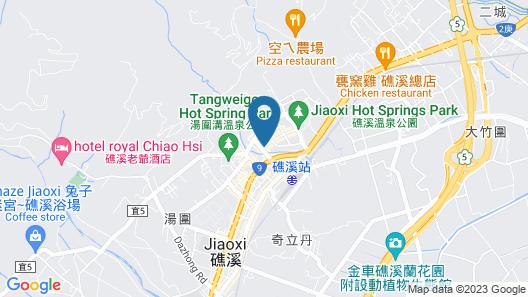 Mu Jiao Xi Hotel Map