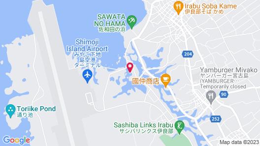Hotel Tidanosato Shimojijima Map