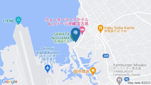 Feliz Villa Suite Irabujima Sawada Map