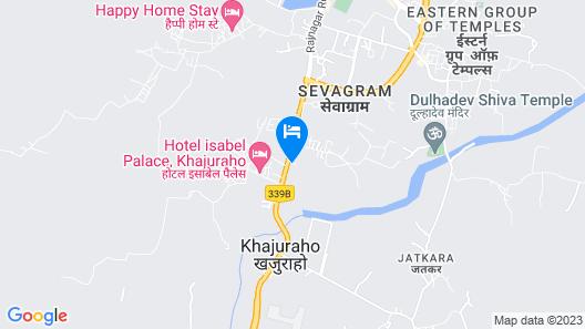 Ramada by Wyndham Khajuraho Map