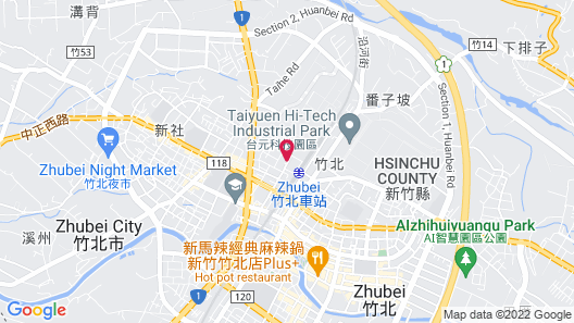 The Young Hotel Map