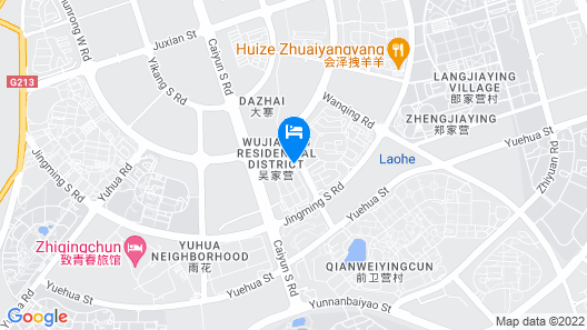 GreenTree Inn Kunming Chenggong University City HSR Station Shilin Street Express Hotel Map