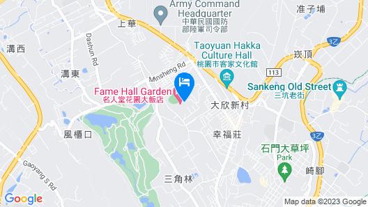 Fame Hall Garden Hotel Map