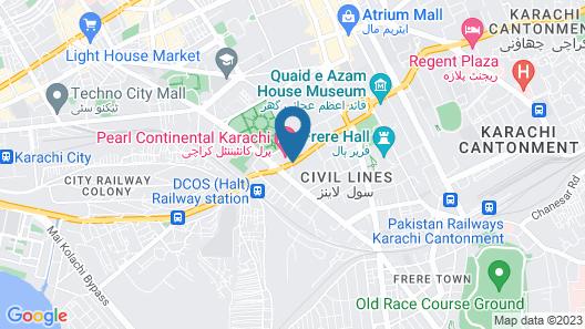 Mövenpick Hotel Karachi Map