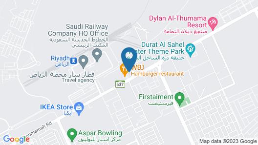 Boudl Al Munsiyah Map