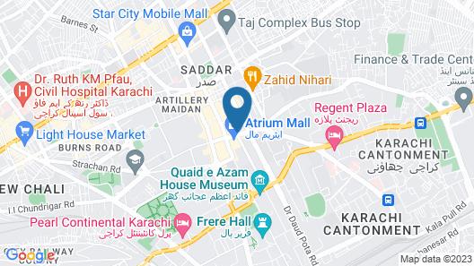 Hotel Al Harmain Tower Map
