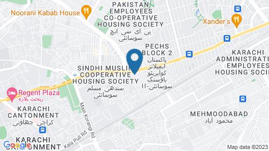Diplomat Inn Hotel Map