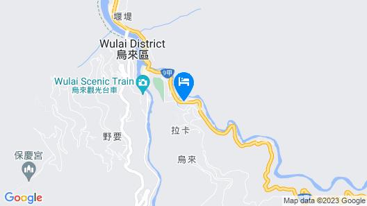Wulai Spring Resort Map