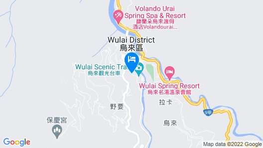 Wulai Town House (Wulai Spring Resort) Map