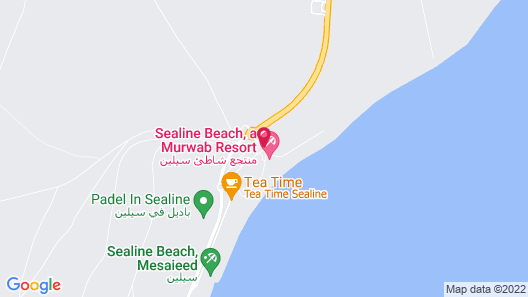 Sealine Beach - a Murwab Resort Map