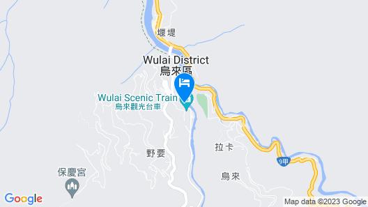 Wulai Shui An Hot Spring House Map