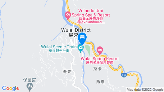 Wulai Karuizawa Hot Spring Resort Map