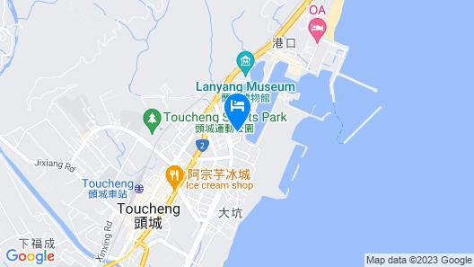 Lan Hai Sunny Coast B&B Map