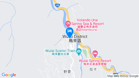 WULAI SungLyu spring resort Map