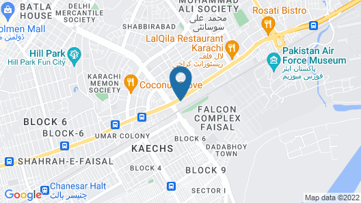 Hotel Days Inn Map