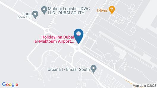 Holiday Inn Dubai Al-Maktoum Airport Map
