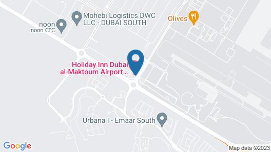 Holiday Inn Dubai Al-Maktoum Airport, an IHG Hotel Map