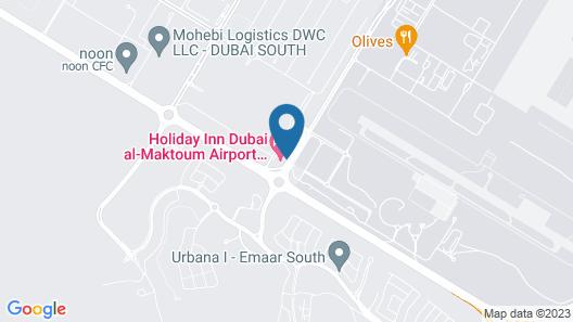 Staybridge Suites Dubai Al-Maktoum Airport, an IHG Hotel Map