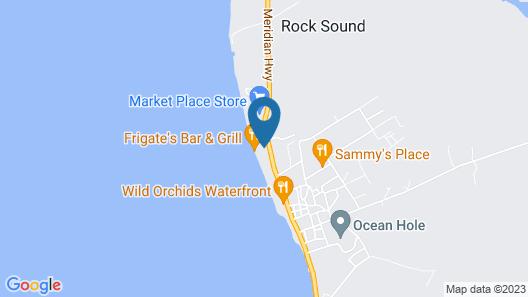 Sand Dollar Cottage Map