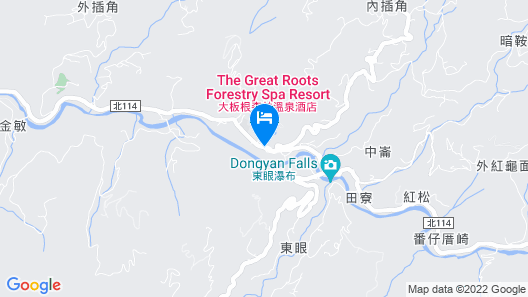 The Great Roots Forestry SPA Resort Map