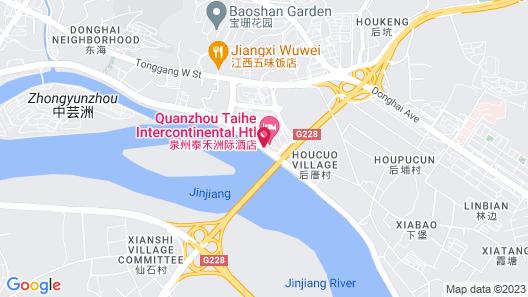 InterContinental Quanzhou Map