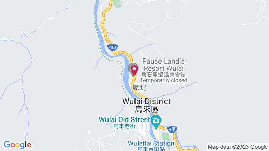 Wulai Pause Landis Resort Map