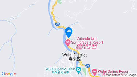 Wulai Pause Landis Resort Map