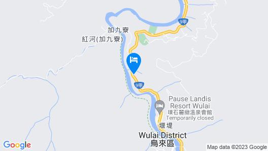 Volando Urai Spring Spa and Resort Map